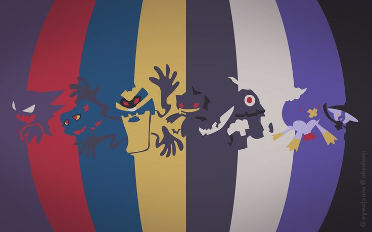Pokemon Spectrum - Ghost by ~EYEofXANA on deviantART