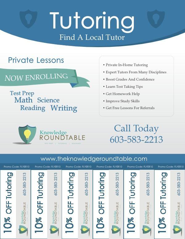 Tutoring Flyer Templates Free Tutoring Flyer Tutor Math Methods