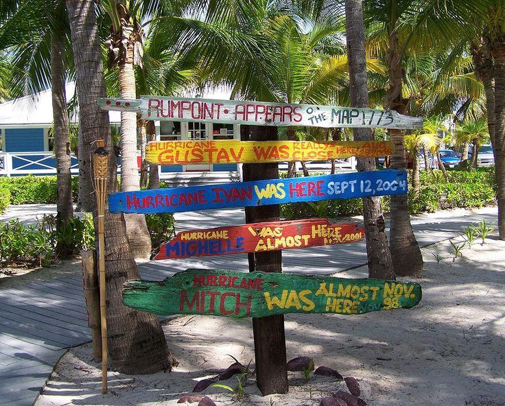 Hurricane signs rum point - Cayman Islands - Wikipedia