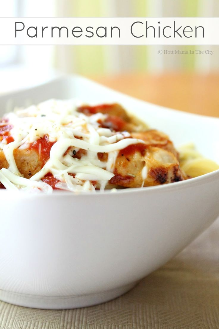 Parmesan Chicken. Make this dish in 10 minutes!
