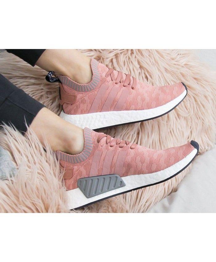 b13af3267 Adidas Nmd R2 Primeknit Raw Pink Sale