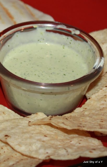 chuy's jalapeno ranch dip recipe on food.com- We ate a huge container of this this weekend