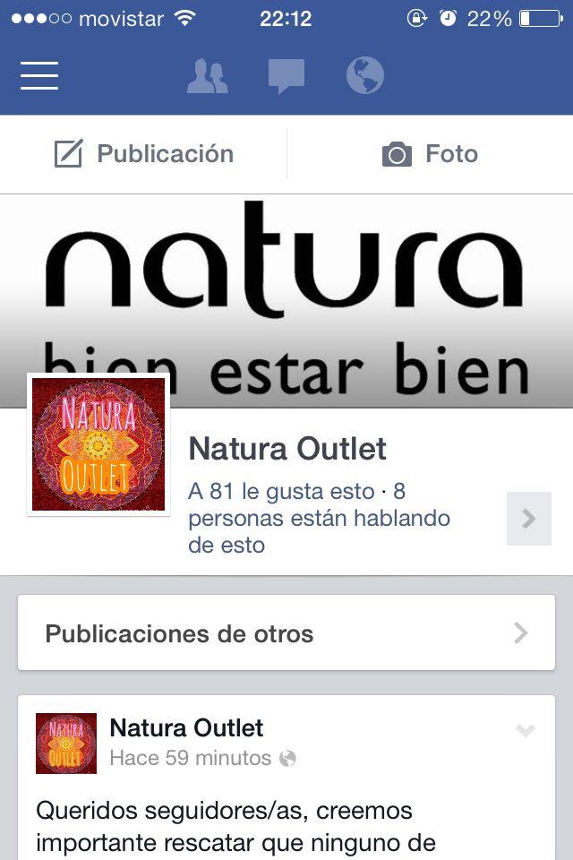 """Pon """"Me Gusta"""" en nuestro fanpage en Facebook y podrás contactarnos además de conocer nuestros productos y ofertas outlet"""