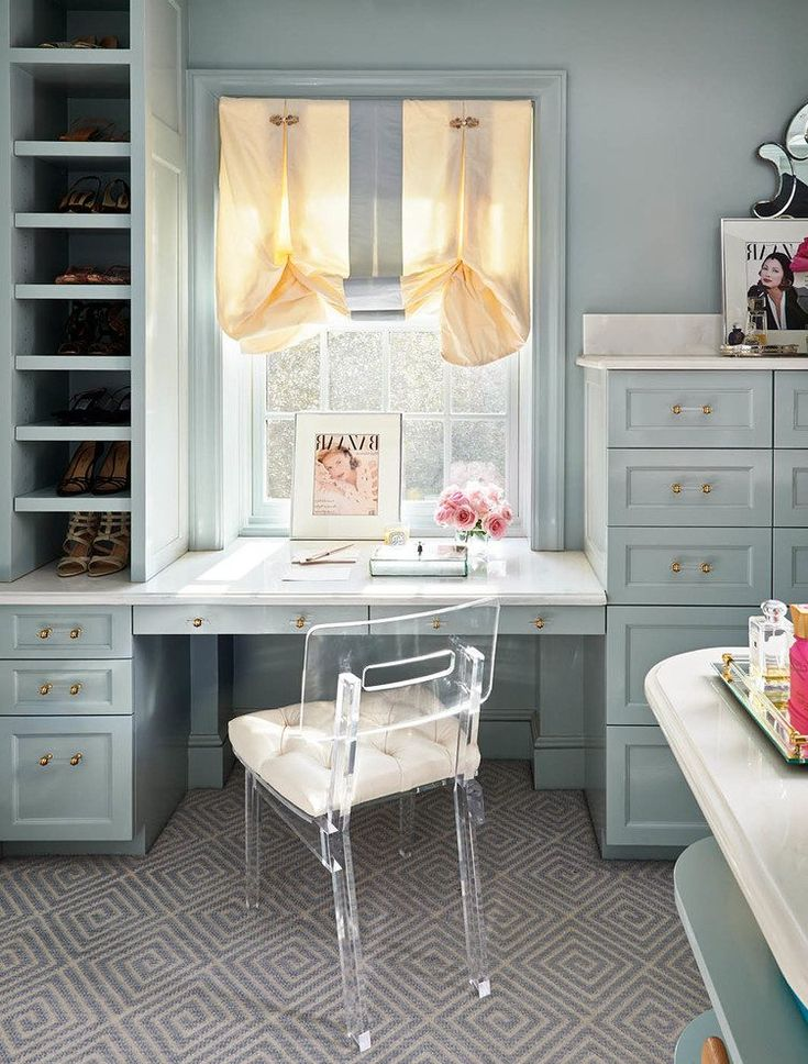 charlotte glam closet traditional with gray walker white display and wall shelves
