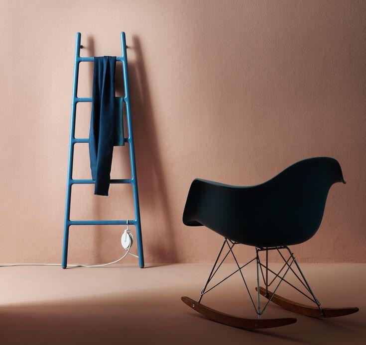 ladder-shaped scaletta radiator by elisa giovannoni