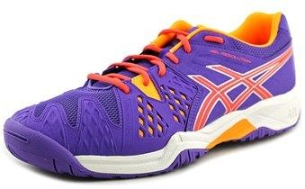 Asics Gel-resolution 6 Gs Youth Round Toe Synthetic Purple Tennis Shoe.