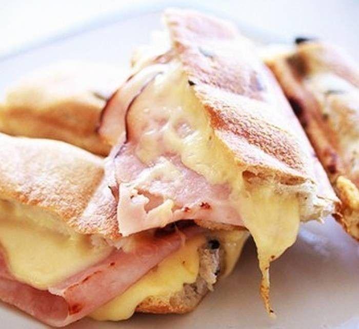Горячие бутерброды из багета - рецепт с фото / Простые рецепты