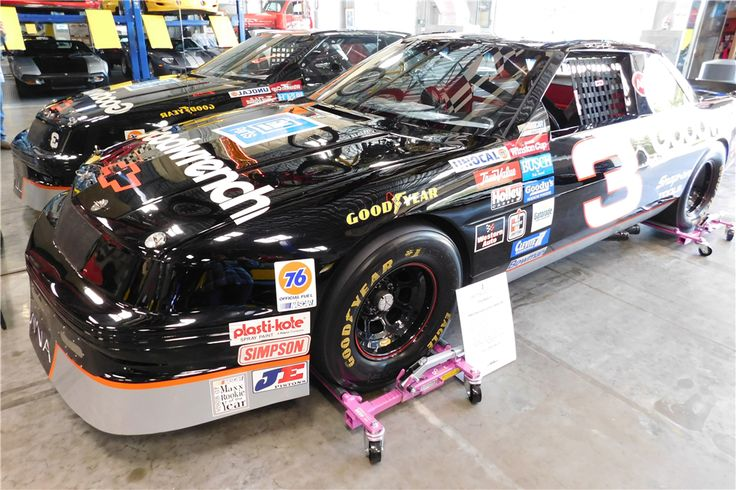 DALE EARNHARDT'S #3 GOODWRENCH 1989 CHEVROLET LUMINA RACE CAR