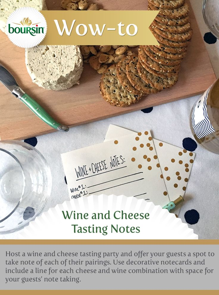 ... Wine and Cheese Night on Pinterest | Boursin Cheese, Cheese Tasting
