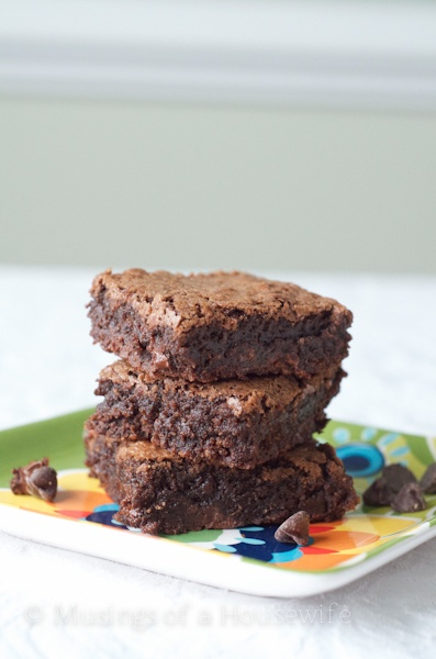 Ultimate Double Chocolate Brownies - my search for the best brownie continues,