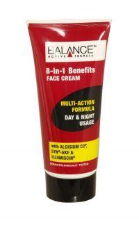 BALANCE 8 IN 1 BENEFITS FACE CREAM 50ML  Balance 8 in 1 Benefits Day & Night Face Cream delivers 8 benefits in one step.