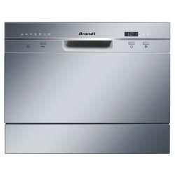 Lave vaisselle compact 6 couverts BRANDT DFC6519S - BRANDT - Vente de Lave-vaisselle encastrable - Conforama