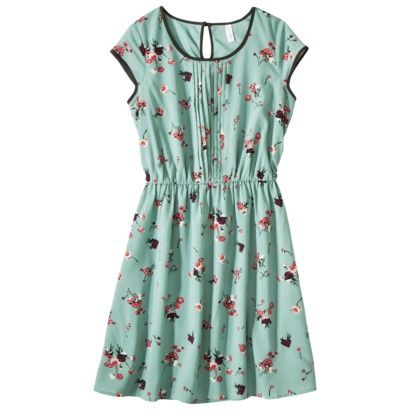 Xhilaration® Juniors Belted Pintuck Fit & Flare Dress - Assorted Colors at Target for Monika