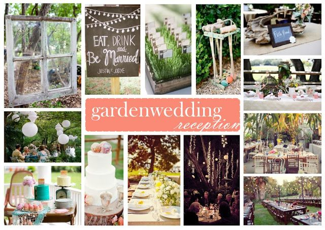 Garden Wedding Reception inspiration