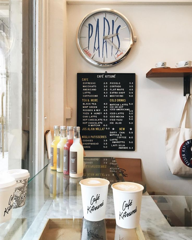 paris, cafe kitsune by instagram.com/larisazz. paris coffee guide and map on laraexplores.today