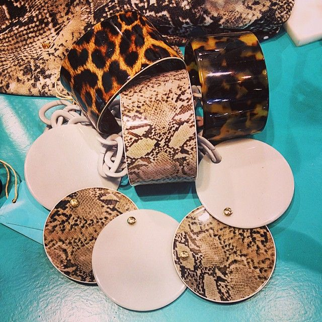 Animal print jewelry by Matildesign bijoux made in Italy