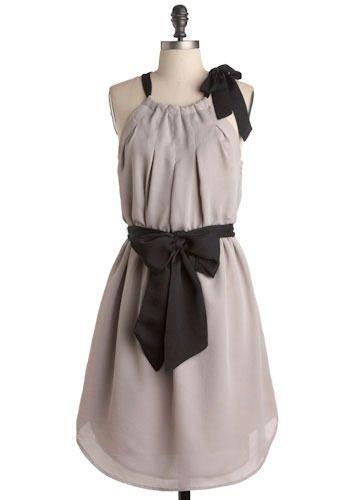 cute: Bows Shoulder, Bows Belts, Cases Dresses, Black Dresses, Adorable Dresses, Cute Dresses, Bridesmaid Dresses, Black Bows, Chiffon Dresses