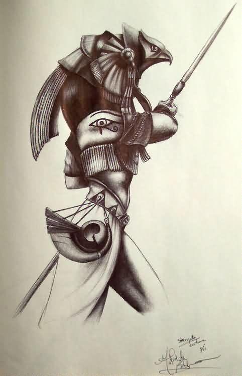 Egyptian Tattoo Sketch