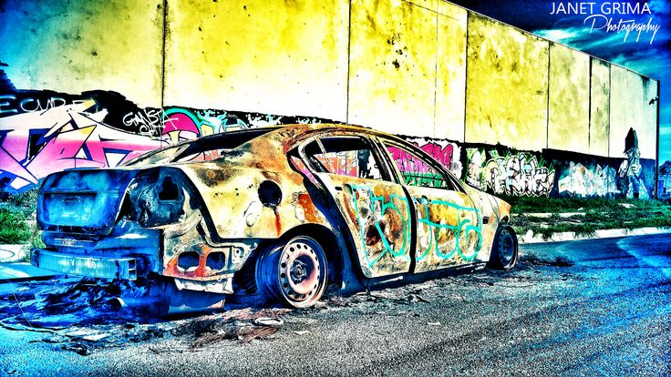 Burnt Out | by Janet Grima Photography
