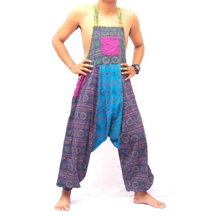 Estampados étnicos peto. Jing-tienda envía pantalones tailandeses y otras cosas bien, pequeños, útiles desde la tierra de las sonrisas a un precio absolutamente justo en todo el mundo