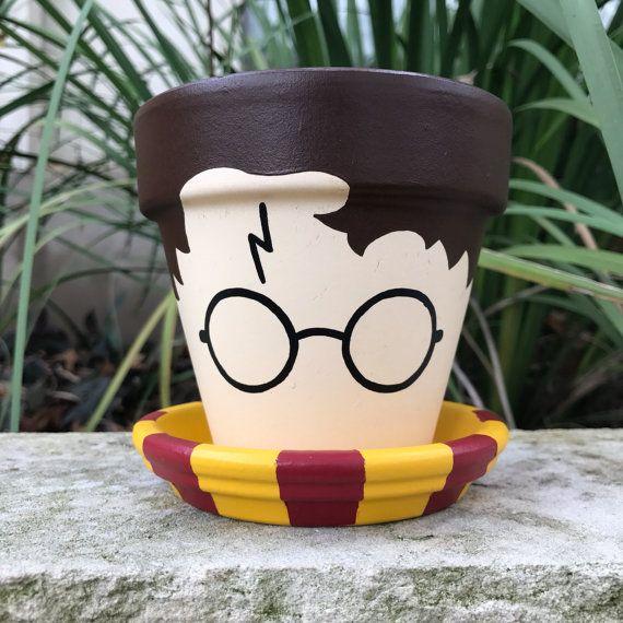 Pot de fleur de Harry Potter