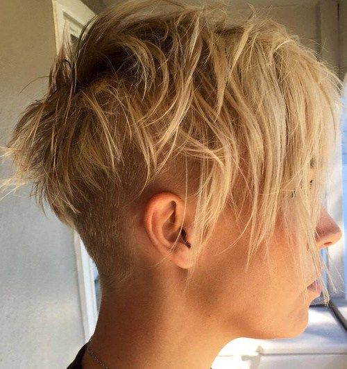 Choppy Pixie With Undercut. Think in on getting something similar to this! Yay!