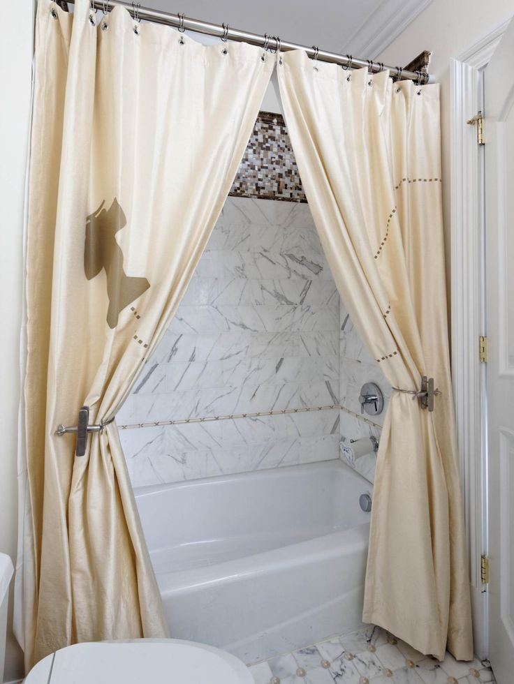 17 Best Ideas About Two Shower Curtains On Pinterest Extra Long Shower Curtain Fun Shower