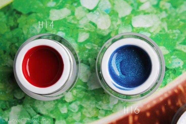 Enii-nails hot&cold gely NOVINKA + postup na modeláž gelem #laky na nehty