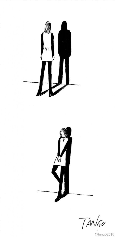 Простые иостроумные комиксы Tango