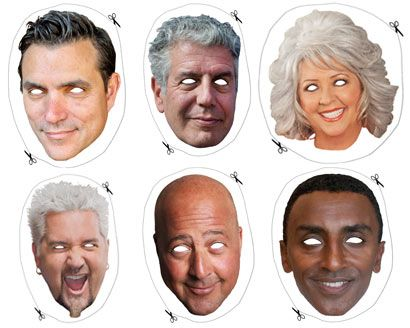 508 best halloween images on pinterest halloween ideas 13 food celebrity halloween masks ccuart Image collections