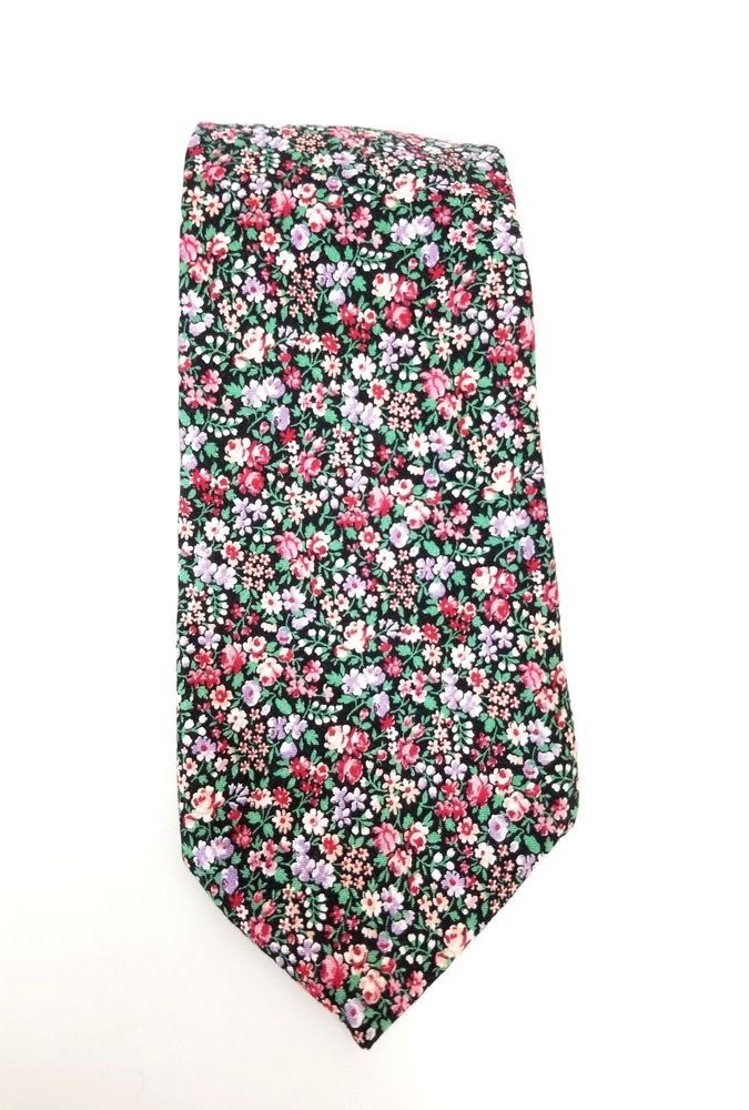 Tango by Max Rabb Mens Neck Tie Floral Design Multi-Color 100% Cotton   TangoByMaxRabb  NeckTie  mensties  mensstyle  mensfashion  mens  menswear   floraltie ... ebbff46c72c80