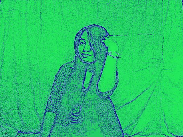 green karikatur
