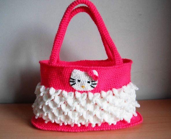 Borse Di Lana Alluncinetto Per Bambini : Oltre fantastiche idee su uncinetto hello kitty
