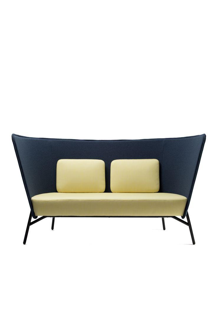 Aura sofa low, design Mikko Laakkonen