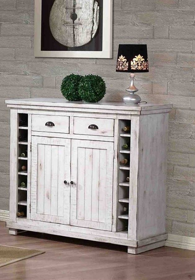 Willow Distressed White Slat Bedroom Set: 134 Best Buffets And Servers Images On Pinterest