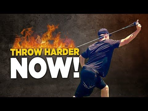 6 Rotator Cuff Exercises To Throw Harder - Baseball Throwing Drills! - YouTube