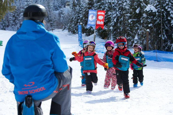 Children always have a smile on their faces. That's why Ski and Snowboard with Kids Magazine has ranked us the Best Kid's Ski School.