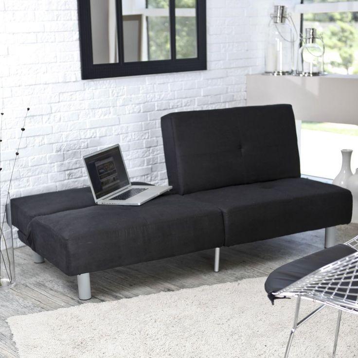 milton green montage convertible sofa black futons at hayneedle