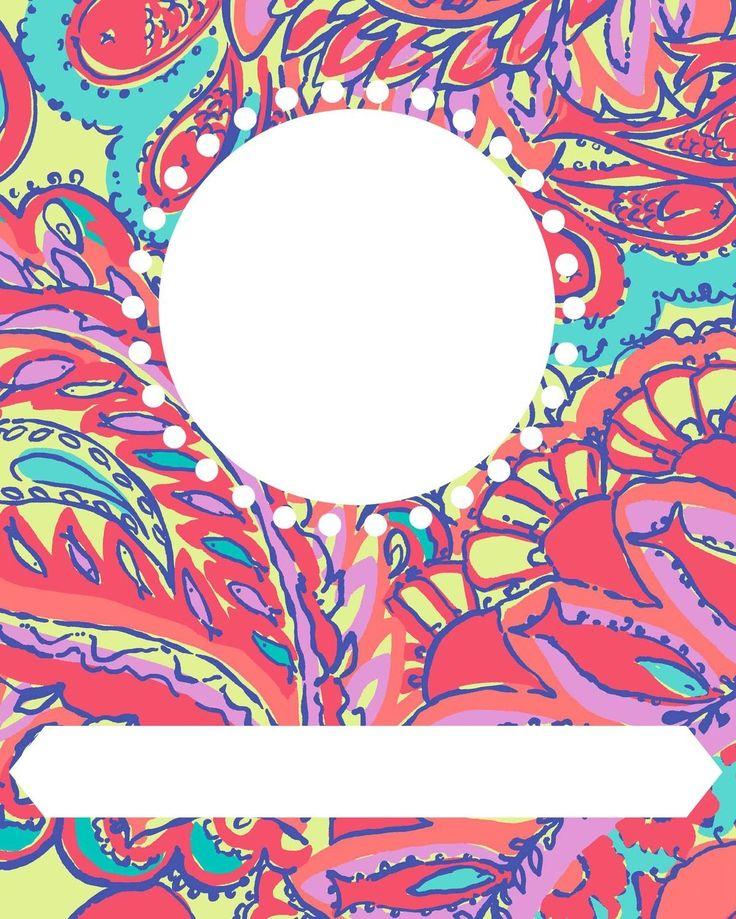 Best School Binder Cover Print Images On   Binder