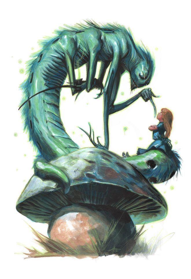"""Alice in Wonderland"" by Gabriele Dell'Otto"