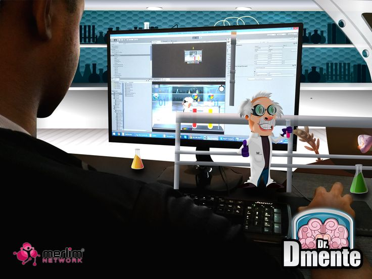 """Estamos trabajando en el desarrollo del juego """" Dr.Demente """".Te divertirás mientras estimulas tu poder de concentración, comprensión y memoria. Pronto lo podrás descargar desde la tienda Merlim Place."""