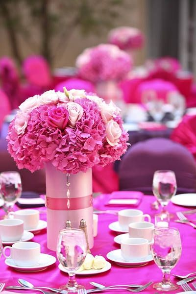 Best images about hot pink wedding on pinterest