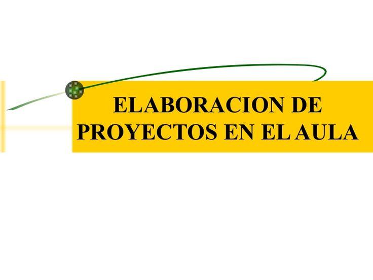 PASOS PARA ELABORACIÓN DE PROYECTO DE AULA