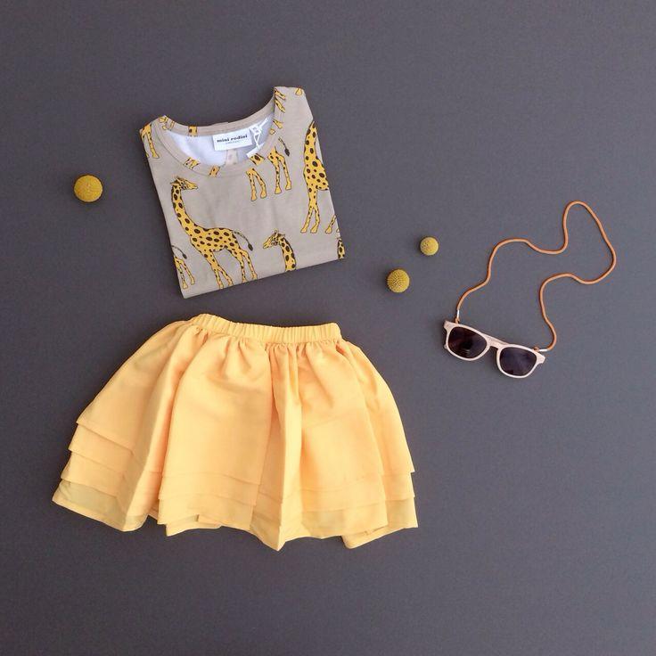 a pop of color. mini rodini ss14 - www.shopminkin.com