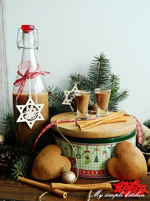 My simple kitchen: Likier czekoladowo - piernikowy