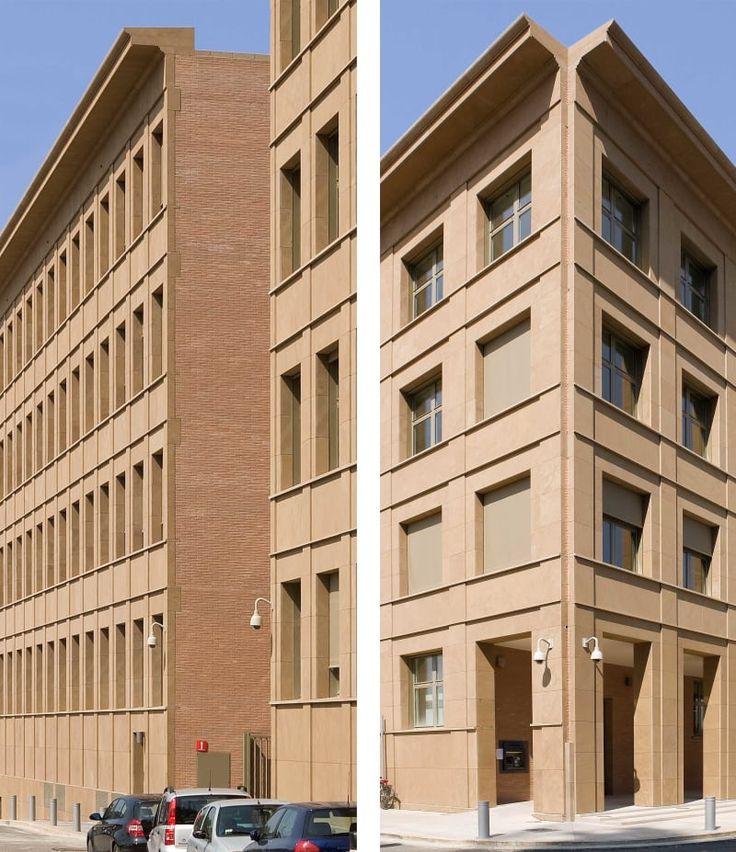 Giorgio Grassi · Nuova sede della Cassa di Risparmio di Firenze