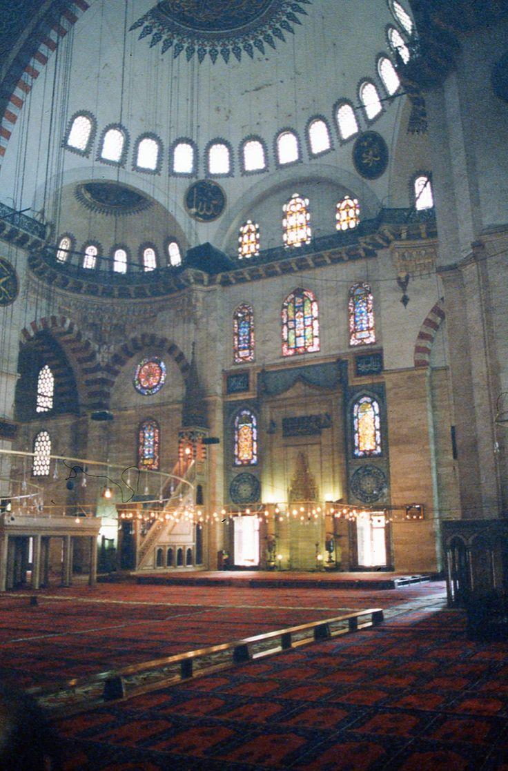 Hagia Sophia (or Ayasofya) interior, Istanbul, Turkey