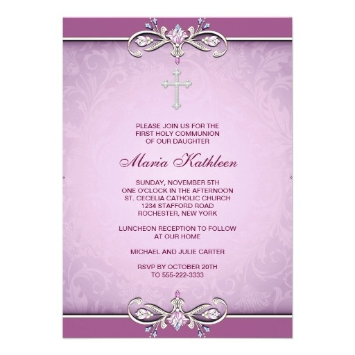 29 best 1st Communion Dresses images on Pinterest First holy - invitation templates holy communion