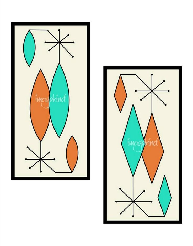 Mid Century Modern art prints by Donna Mibus. Available at:  http://www.imagekind.com/art/Gravel-Art-_art_art?show=canvas&IMID=6e25ddbb-4f39-461e-9435-4edcc79f7aa7
