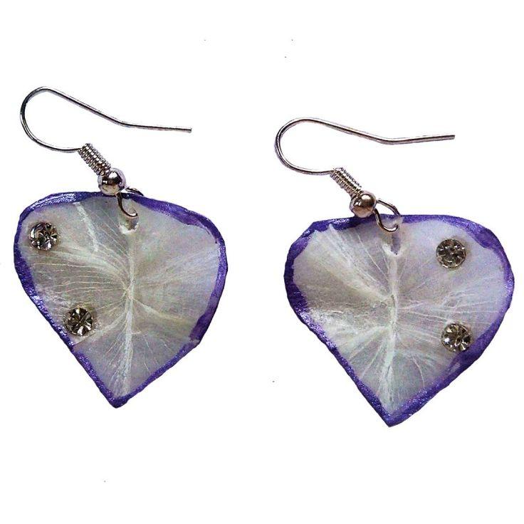 Made of Fish ScalesHandicraft ProductNew DesignStylishVibrant VioletStone Work
